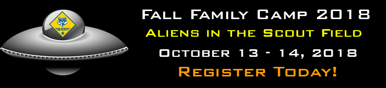 Aliens in the Scout Field Banner Ad